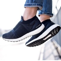 adidas 阿迪达斯 UltraBOOST LACELESS 女子跑步鞋