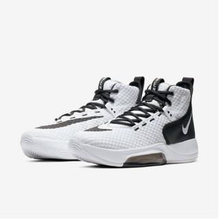 NIKE 耐克 BQ5468-100 男子篮球鞋 黑白 41