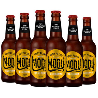 Reberg Beer 莱宝鲜啤 魔督系列酒花皮尔森黄啤酒 330ML*6