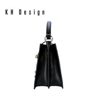 KH Design 明治 女包真皮卡通手提包