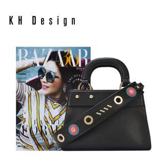 KH Design 明治 时尚手提包戴妃包