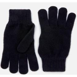 Barbour 男士羊毛围巾和手套礼盒套装