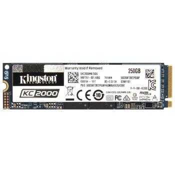 金士顿(Kingston) 250GB SSD固态硬盘 M.2接口(NVMe协议) KC2000系列