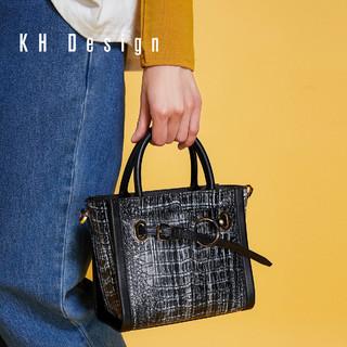 KH Design 明治 简约手提包时尚单肩包