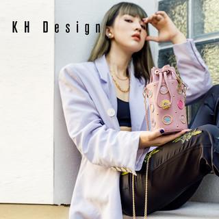 KH Design 明治 小九筒包时尚女王斜挎包