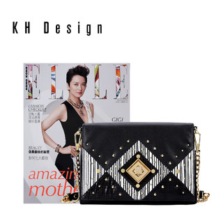 KH Design 明治 包锁扣包链条斜跨小包