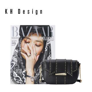 KH Design 明治 时尚铆钉斜挎包小包