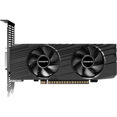 GIGABYTE 技嘉 GeForce GTX 1650 OC Low Profile 显卡 4GB