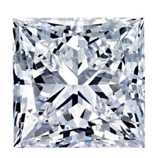 黑五全球购、银联专享 : Blue Nile 1.00克拉公主方形钻石(切工G 成色G色 净度VS1)
