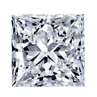 Blue Nile 1.00克拉公主方形钻石(切工G 成色G色 净度VS1)