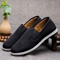 京叶红 老北京传统布鞋 橡胶黑底