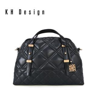 KH Design 明治 2018新款真皮手提包