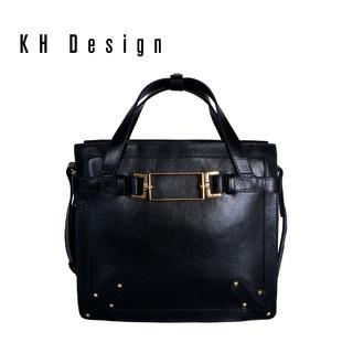 KH Design 明治 欧美简约休闲大包真皮手提