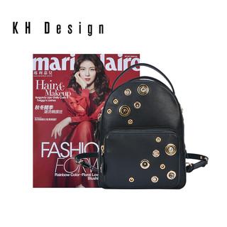 KH Design 明治 真皮小包手提包休闲头层牛皮
