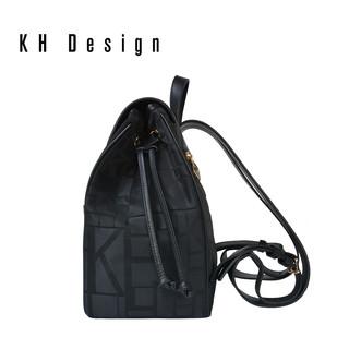 KH Design 明治 镶钻大包铆钉大容量双肩包