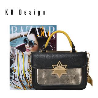 KH Design 明治 时尚斜跨包通勤包