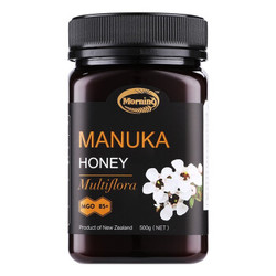 Morning麦卢卡蜂蜜MGO85+  新西兰进口纯正天然野生蜂蜜瓶装 500g