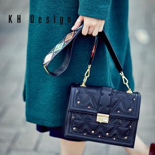 KHDesign 明治 女士时尚斜挎单肩包 K1061A