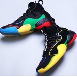 【省1375元】adidas 阿迪达斯 Pharrell Crazy BYW LVL X PW 联名款男士运动鞋-优惠购
