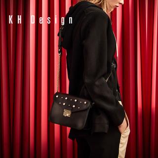 KH Design 明治 2019新款镶钻小包链条包