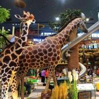 神秘非洲搬来魔都啦!9米金属大滑梯!上海卡通尼Safari 门票