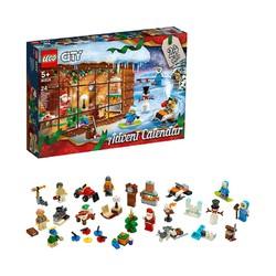 LEGO 乐高 城市系列 60235 圣诞倒数日历