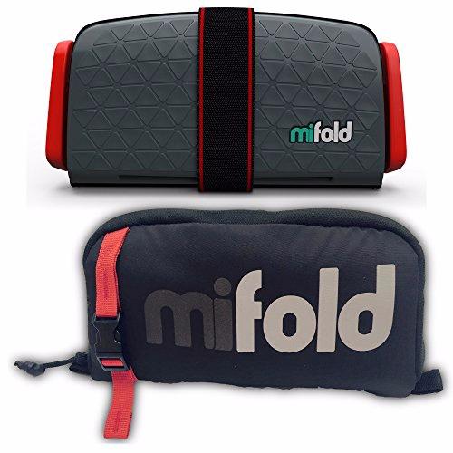 mifold 儿童便携式汽车安全座椅 适用于3-12岁  深灰色