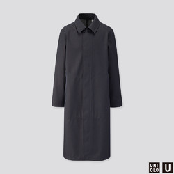 UNIQLO 优衣库 U系列 420424 BLOCKTECH 男装廓形外套-优惠购
