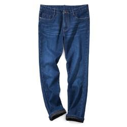 千纸鹤 QZH1109 男士加绒款牛仔裤 *2件 128元(合64元/件)_天猫精选优惠_优惠购