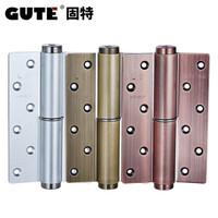 固特(GUTE) 隐形门液压合叶带闭门器缓冲自动关门定位阻尼合页 拉丝银右内开(一片价) *7件
