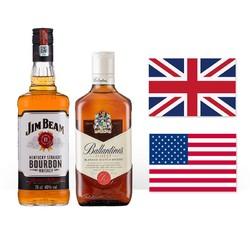 Jim Beam 占边 百龄坛特醇威士忌 750ml