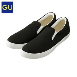 GU 极优 GU317266000 男式帆布百搭板鞋