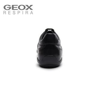 GEOX/健乐士男鞋2019新款男士运动鞋秋冬款户外舒适休闲透气U843BC