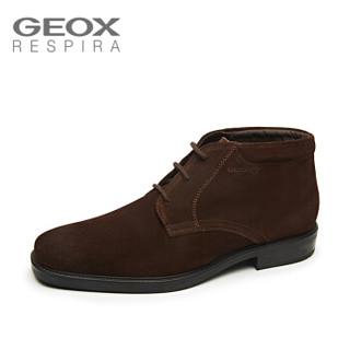 GEOX/健乐士秋冬男士短靴商务休闲系带方头舒适U844VA