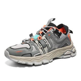 PEAK 匹克 E94071E 态极探索者运动鞋 淡灰 41