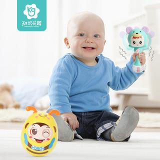 知识花园 婴儿摇铃0-1岁宝宝玩具