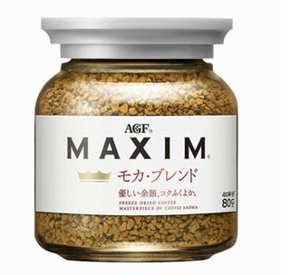 AGF 马克西姆MAXIM速溶黑咖啡粉 80g