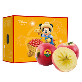 京觅 迪士尼 米奇系列  阿克苏苹果 12粒装 果径约85-89mm  *3件