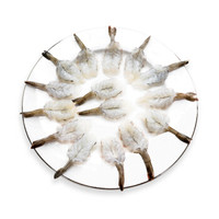 鲜美来 冷冻火锅对虾 蝴蝶虾 100g 10只 *14件