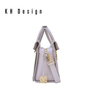 KH Design 明治 K9980 真皮纯色小方包