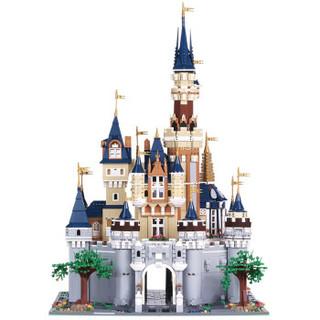 宇星模王 13132 街景城市建筑系列 迪士尼梦幻乐园城堡