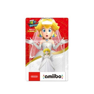 Nintendo 任天堂 amiibo系列 国行 桃花公主婚礼造型