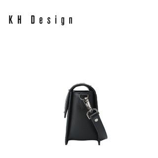 KH Design 明治 K1226 铆钉真皮女款单肩包