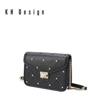 KH Design 明治 K1223 镶钻链条女款斜挎包