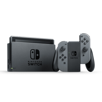Nintendo 任天堂 国行 Switch游戏主机 续航加强版 灰色