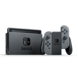 Nintendo 任天堂 Switch 续航加强版 家用游戏机 + 闪迪 256GB TF存储卡