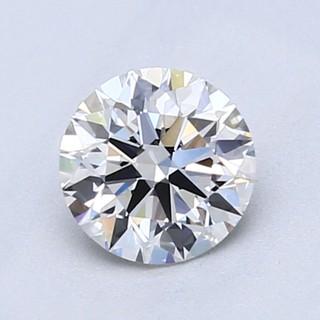 黑五全球购 : Blue Nile 0.80克拉圆形切割钻石(切工EX, 成色E色,净度VVS1)