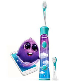 PHILIPS 飞利浦 HX6340 儿童声波震动牙刷