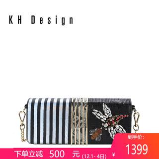 KHDesign明治女包宴会包真皮斜挎包链条包手拿包新款小包专柜同款