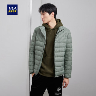 HLA 海澜之家 HWRAJ3R050A 男士经典短款秋冬羽绒服